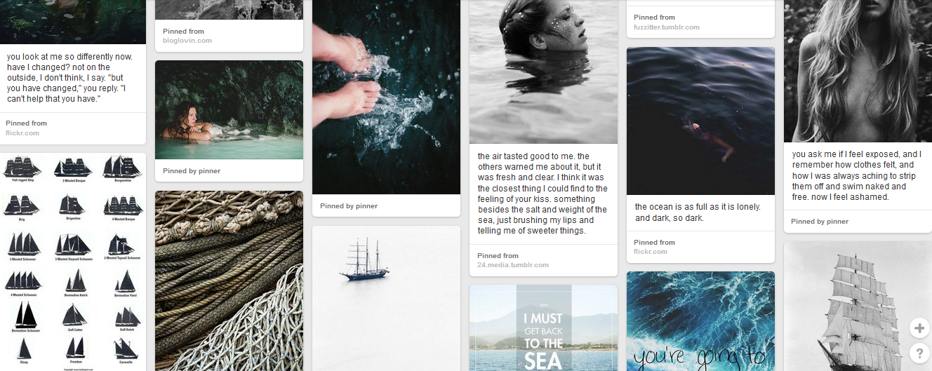 siren song pinterest screenshot